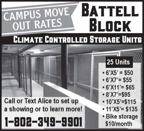 Battell Block Storage Units