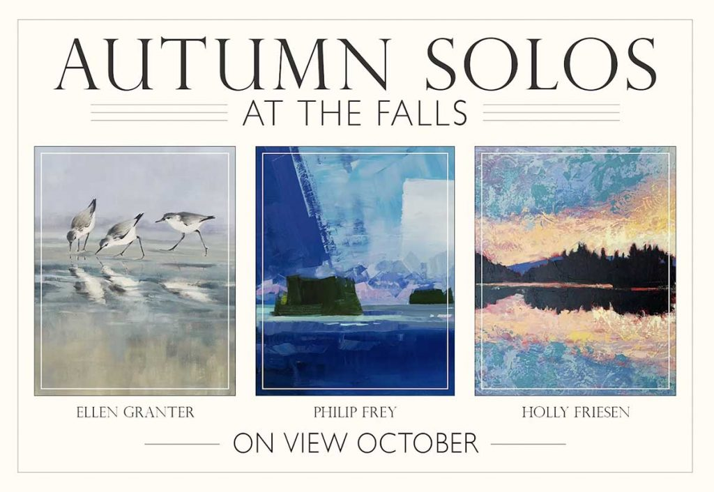 Autumn Solos at the Falls - Edgewater Gallery