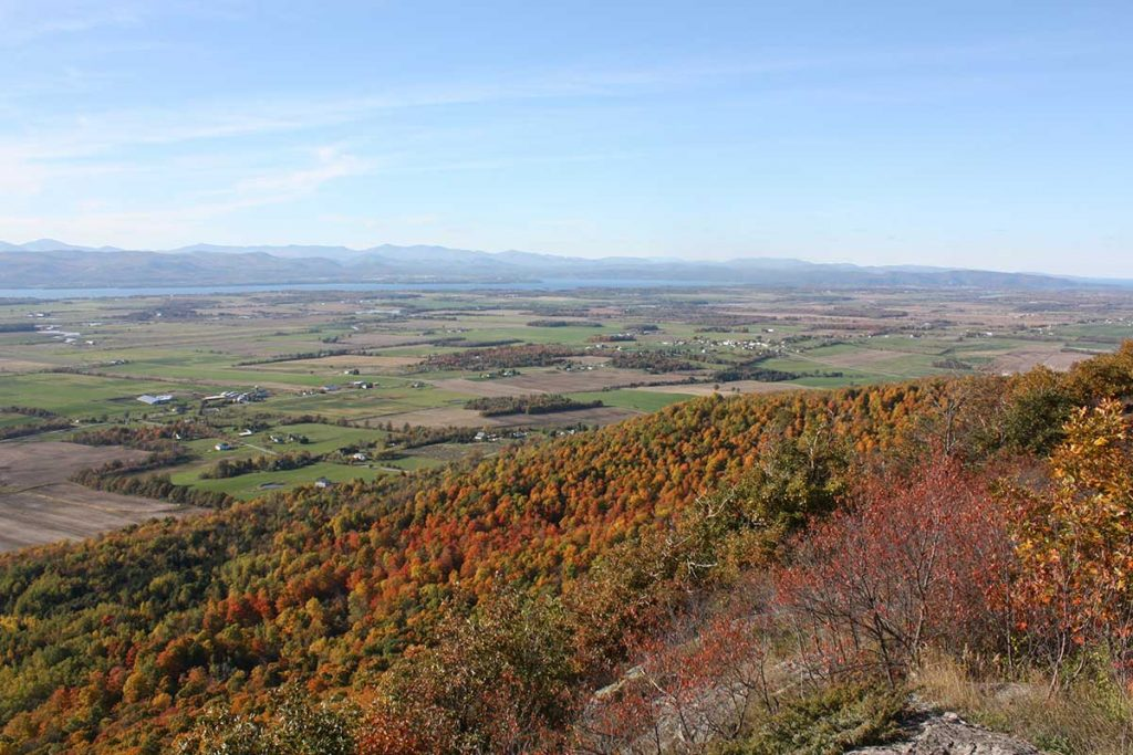View from Snake Mountain, Addison VT